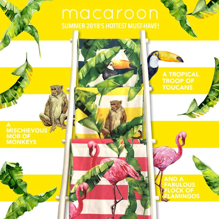 Printed plantation creation microfiber towels - shop online www.macaroon.co.za
