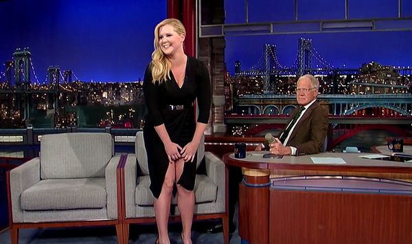 Amy Schumer Shows David Letterman Her Vagina In Hilarious Interview —Watch