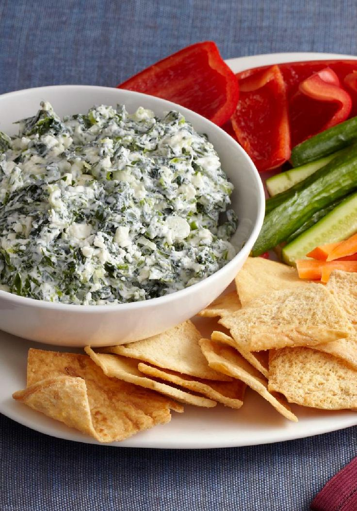Greek Spinach Dip – Sure, you'd expect this Greek Spinach Dip to be tart and…