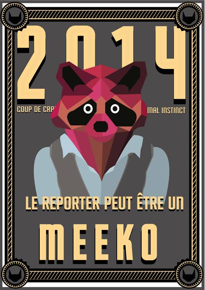 // Le reporter peut être un meeko //  #meeko #raton #raccoon #esprit #animal #espritanimal #animalspirit #spirit #animals #animaux #graphisme #vectoriel