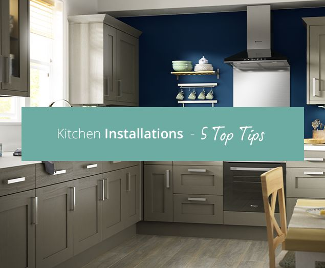 Read our blog to find out our top 5 tips on choosing a kitchen fitter, and installing your new kitchen