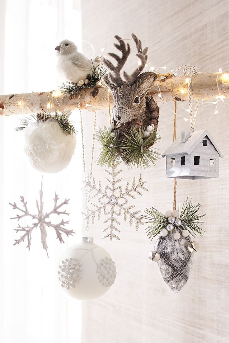 If you love Christmas ornaments, you don't have to limit them to the tree. Feel free to display them on your garlands, mantels, tabletops—anywhere you want to spread holiday cheer. Collectible Pier 1 Christmas ornaments make great gifts, too!
