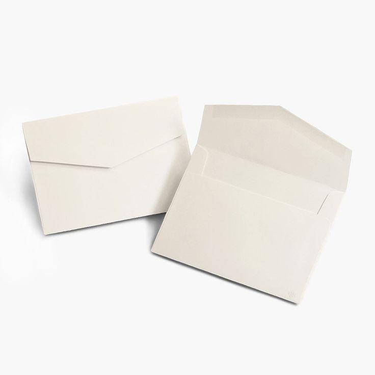 5 x 7 Signature Invitation Outer Envelopes Classic Ecru (24)