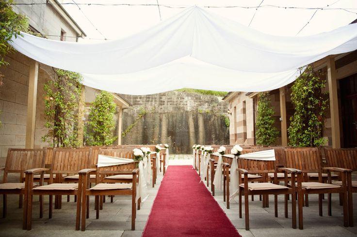 Gunners Barracks wedding ceremony details