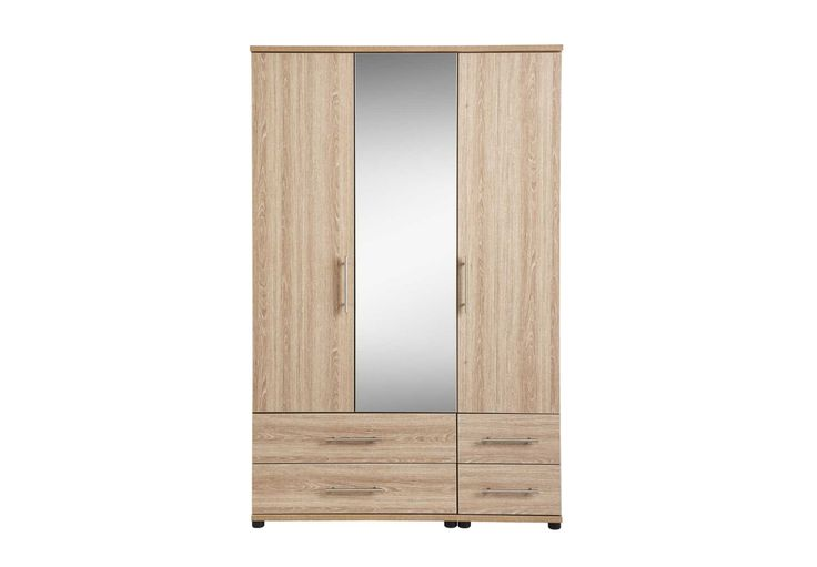 3 door centre mirror gents wardrobe - Amari - Bedroom Furniture | Beds | Furniture Village