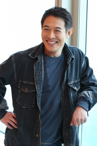 Jet Li...he has one of the best smiles ever!