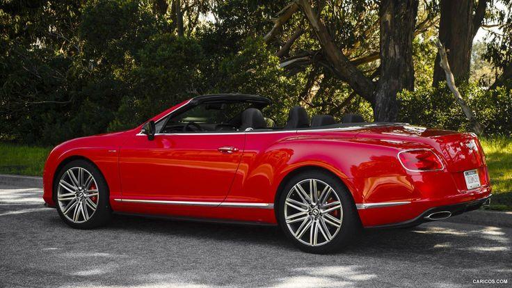 Um belo Bentley conversivel