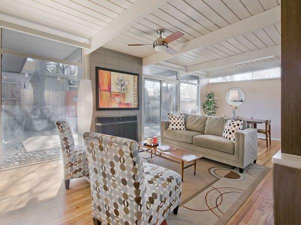 Denver Mid Century Modern Home   Interior