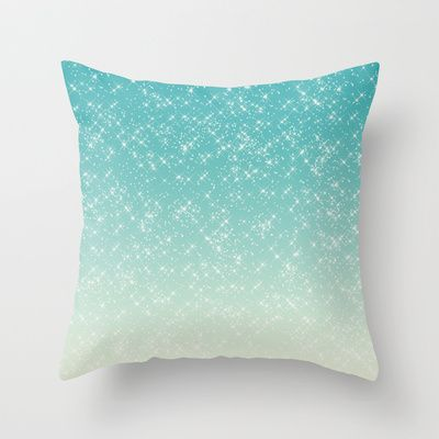 Throw Pillows With Sparkle : 17 Best images about Sparkle! sparkle! Sparkle! on Pinterest Blue throw pillows, Glitter and ...