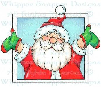 Joyful Santa - Christmas Images - Christmas - Rubber Stamps - Shop
