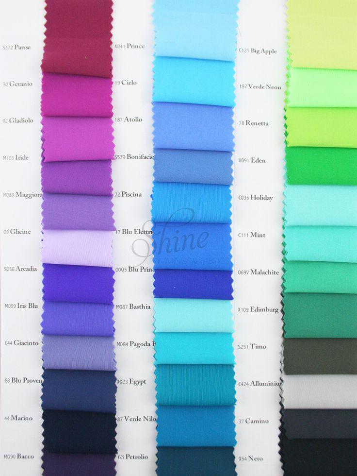 Italian Linel Opaco/Matt Sample Card Page 2 | Shine Trimmings & Fabrics | Great stretch Fabric for dancewear, swimwear & activewear