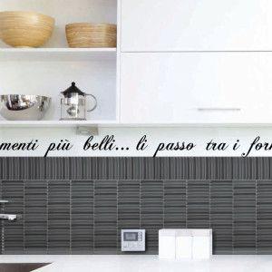 Adesivo murale da cucina