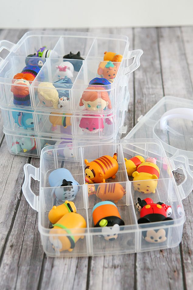 Craft Store Tsum Tsum Case   Organize and store all your adorable tsum tsums in ...
