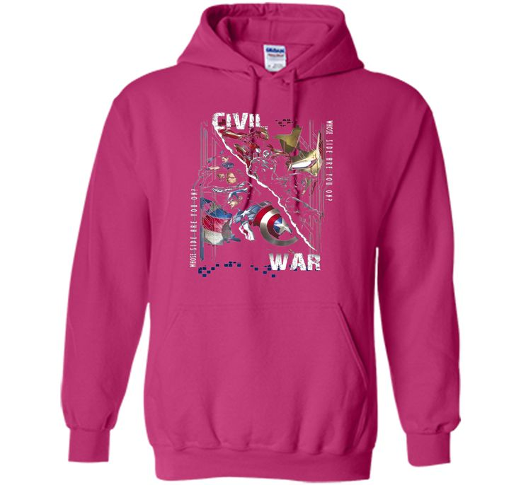 Captain America Civil War Sides Graphic T-Shirt