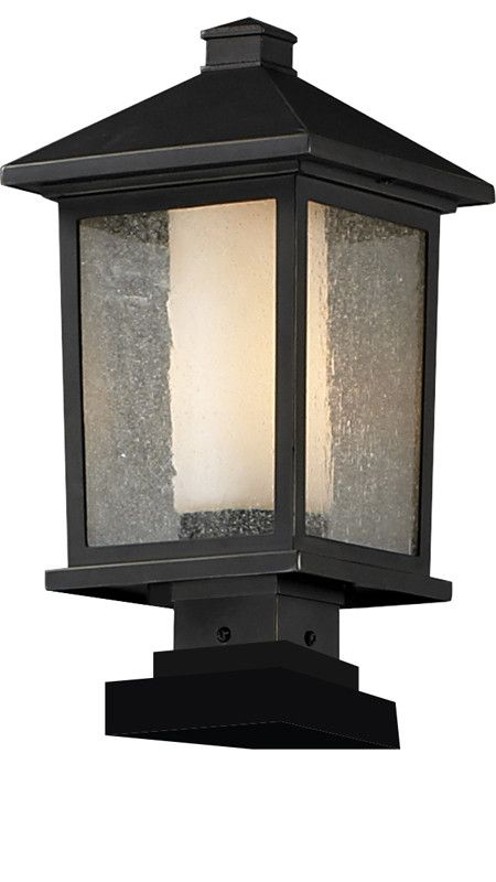Z-Lite 538phb-sqpm-orb Mesa Collection Outdoor Post Light