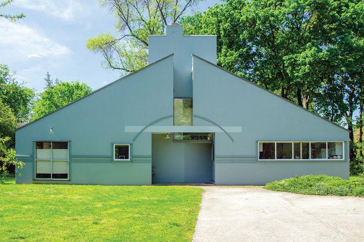Vanna Venturi House Listed for $1.75 Million | Architect Magazine | Architecture, Pennsylvania