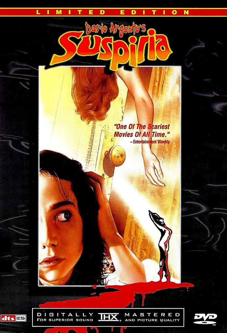 Suspiria Dvd Scary Movies Cover Artwork Movies
