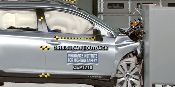 Ten Midsize Cars Earn Good Ratings In New Iihs Passenger Side