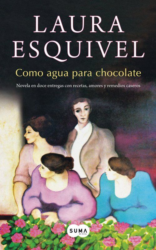 I actually read this in Spanish years and years ago.  Took me foreveeeeeerrrrrr, and I demolished my Span/Eng dictionary in the process, but I was quite proud:)  Portada de Como agua para chocolate
