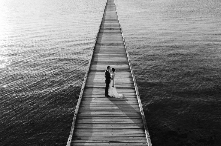 Rebekah + Ryan. Black and white wedding photography by iZO Photography