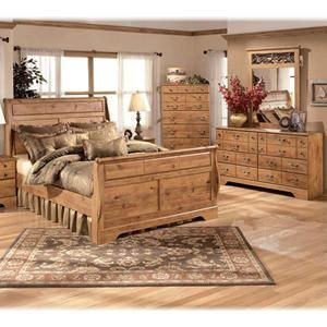 Nebraska Furniture Mart Ashley 4 Piece Queen Bedroom Set
