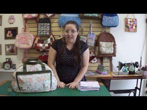 Como fazer uma bolsa maternidade de menina - YouTube