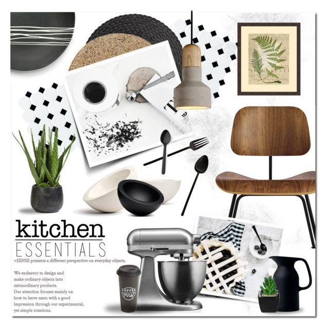 Essentials by justlovedesign on Polyvore featuring interior, interiors, interior design, home, home decor, interior decorating, Design Within Reach, KitchenAid, Sarah Cihat and Kim Seybert