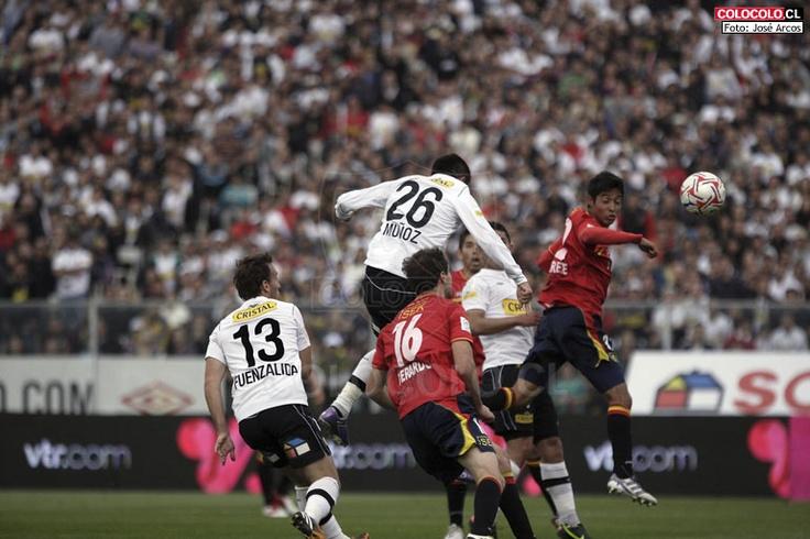 Fiesta monumental  clausura 2012 colo colo vs union española
