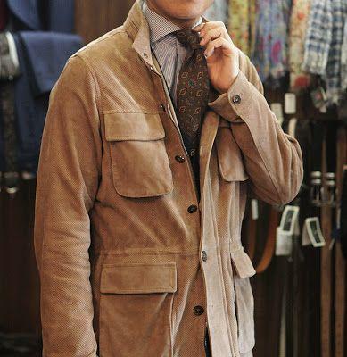 Safari Jacket Liverano Liverano Menswear Pinterest