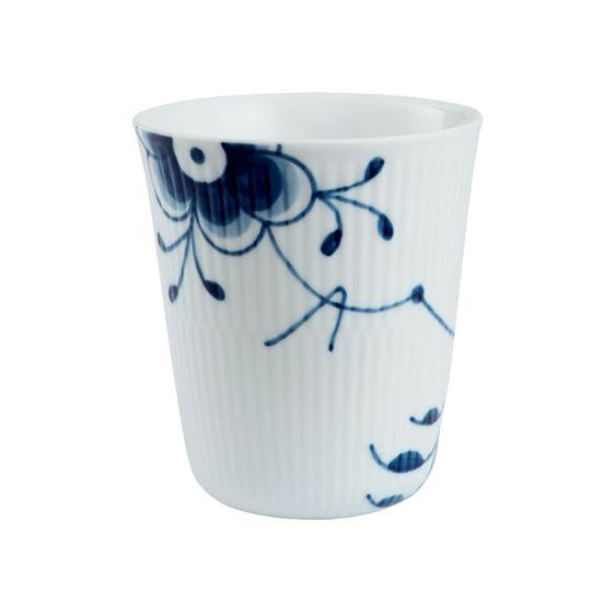 Thermal Mug - Blue Fluted Mega - porcelain from Royal Copenhagen, Denmark. Production start: 2000.