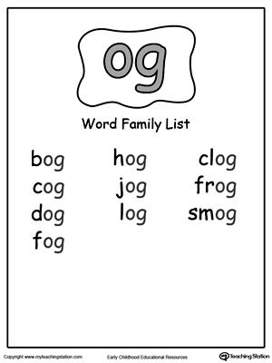 Practice a variety of skills in this OG Word Family Workbook for Kindergarten including reading, writing, drawing, coloring, and thinking skills.