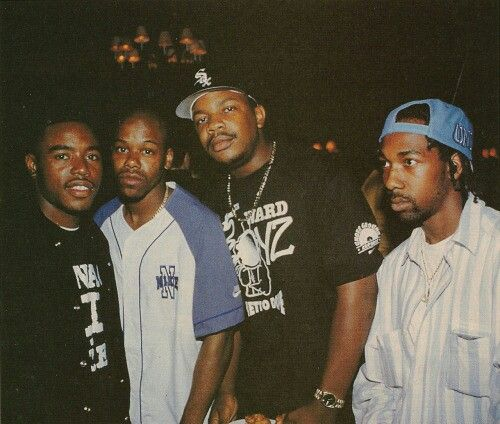 Menace 2 Societys Kaine, short Dawg, Ant Banks and Eiht