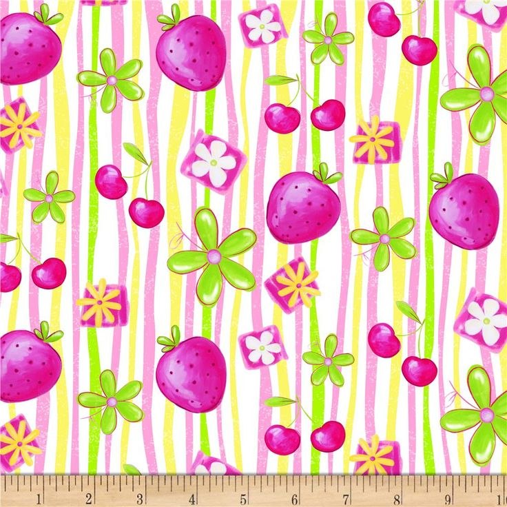 Tutti Fruitti Plisse Strawberry Stripe Pink from @fabricdotcom Plisse has a puckered finish given to fabric. This poly/cotton plisse fabric will be comfortable to wear and perfect for blouses, dresses, skirts and kids clothing. In warmer climates, it is also appropriate for lightweight pants or shorts.