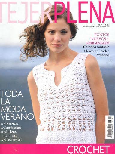Tejer Plena Nº 004 - Melina Tejidos - Álbuns da web do Picasa