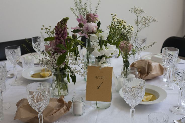 Wedding // Table Setting // Flowers