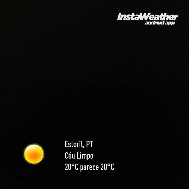 Diz que é inverno... #weather #instaweatherpro #instaweather