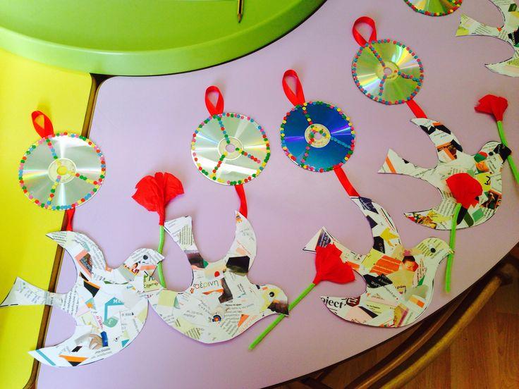 Τα περιστέρια της ειρήνης-www.kinderella.gr