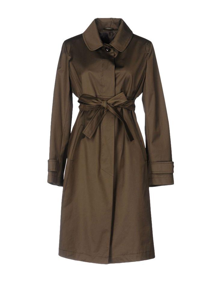 Max Mara Studio Легкое Пальто Для Женщин - Легкие Пальто Max Mara Studio на YOOX - 41673587CN