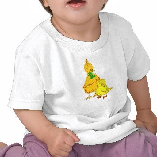 Baby Shirt mit Entchen.