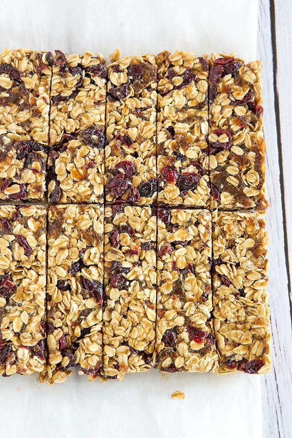 These no-bake granola bars contain only five ingredients, no added sugar, and are infinitely customizable… A perfect lunchbox snack!  Since Joseph was diagnosed with his food allergies (soy, egg and p