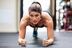 That's how long you have to hold the plank to see results – Fitness