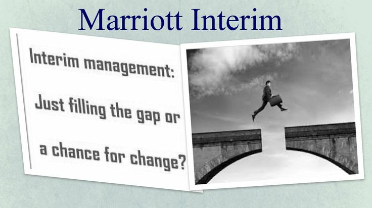 Specialist in Interim Management(Marriott Interim)