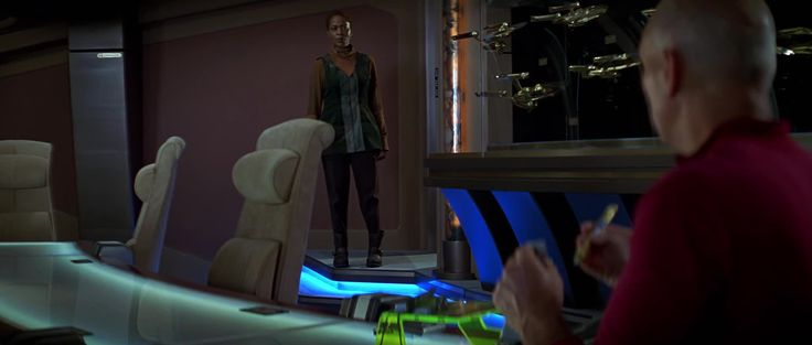 One of my favorite scenes of Patrick Stewart | Star Trek: First Contact - Captain Ahab must go hunt is Cybernetic Whale https://vid.me/VSMH #timBeta