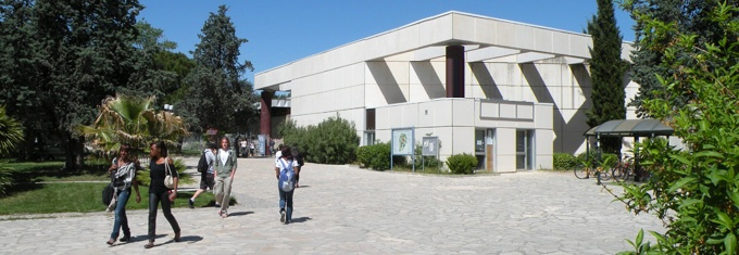 Administration building at Paul Valéry University, Montpellier III