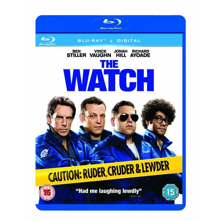 The Watch (Blu-ray + UV Copy): Amazon.co.uk: Ben Stiller, Vince Vaughn, Jonah Hill, Richard Ayoade, Rosemarie DeWitt, Akiva Schaffer, Seth Rogen, Evan Goldberg: Film & TV