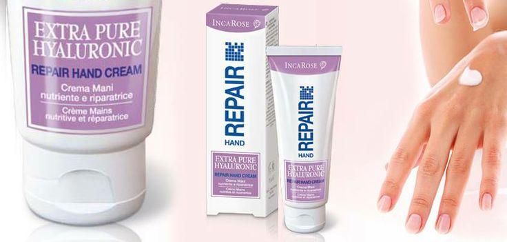 Extra Pure Hyaluronic - Repair Hand Cream - Crema maini nutritiva, reparatorie  http://www.naturashop.ro/extra-pure-hyaluronic-repair-hand-cream-crema-maini-nutritiva-reparatorie-p-3737.html
