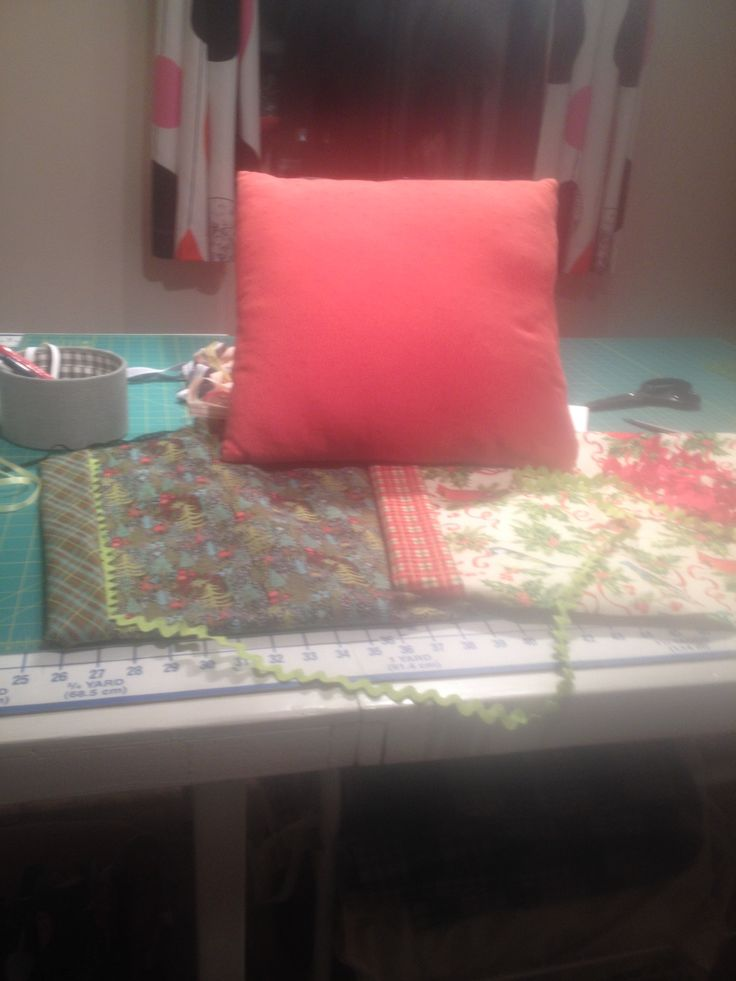 I love pretty cushions in my living room, especially Christmas ones during the season! Just brings out the season. I have a couple of lovely prints that are cute and festive. I haven't dec…