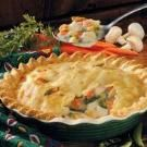 This hearty CHICKEN POTPIE feeds a lot for a little, at just $1.83 per serving. Its satisfying taste is worth the extra effort!!