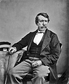 David Livingstone (1813 – 1873) Scottish Christian Congregationalist, pioneer medical missionary, and explorer in Africa.