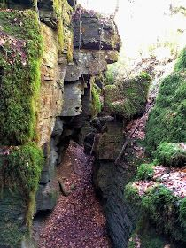 Vidrà. Una ruta en la que vamos a entrar en una zona de bosque sombrío y verde y donde vamos a ir descubriendo un lugar curioso, con unas especta...